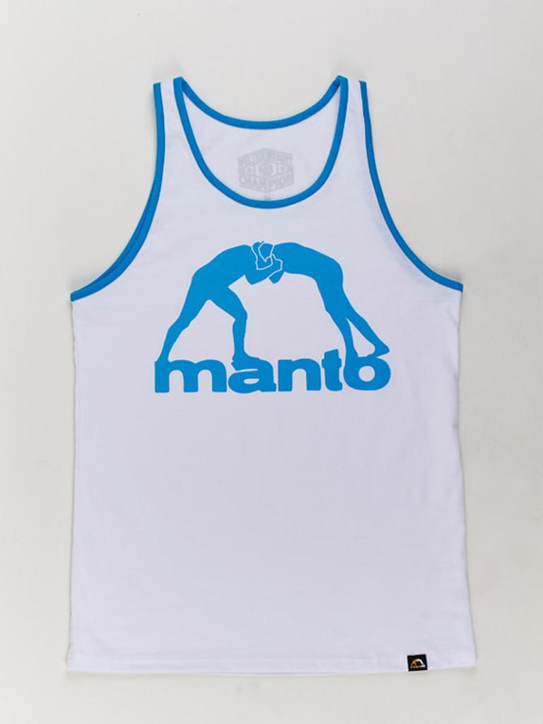 "MANTO ""VIBE"" TANK TOP White"
