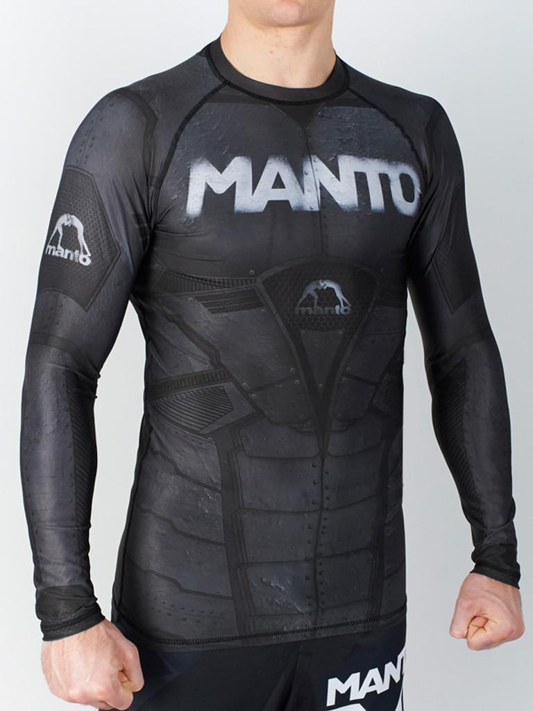 "MANTO ""ALTIA 2.0"" RASHGUARD Black"