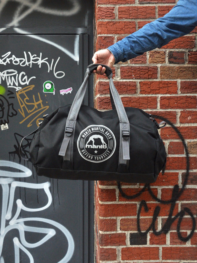 "MANTO ""COMPACT"" Dufflebag Black"