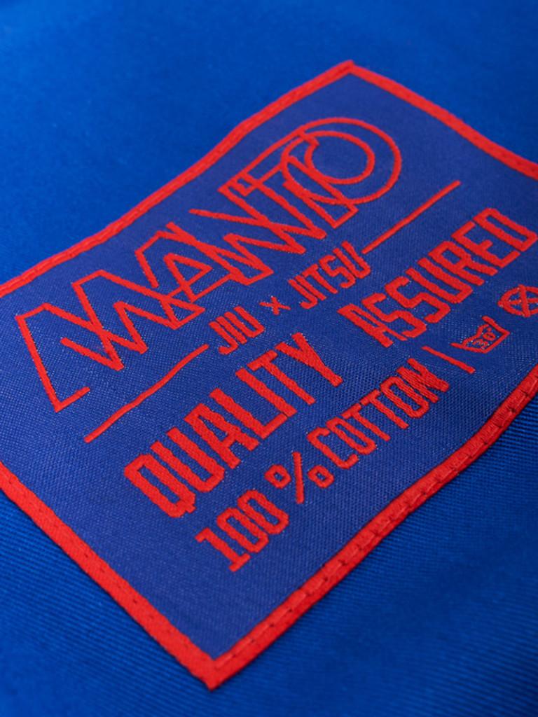 "MANTO ""NEO"" BJJ GI Blue"