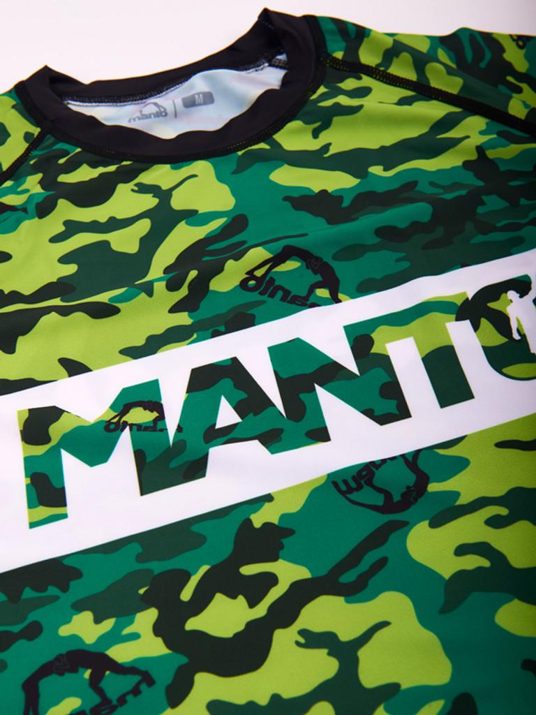 """MANTO """"CAMO"""" RASHGUARD Short Slv"""
