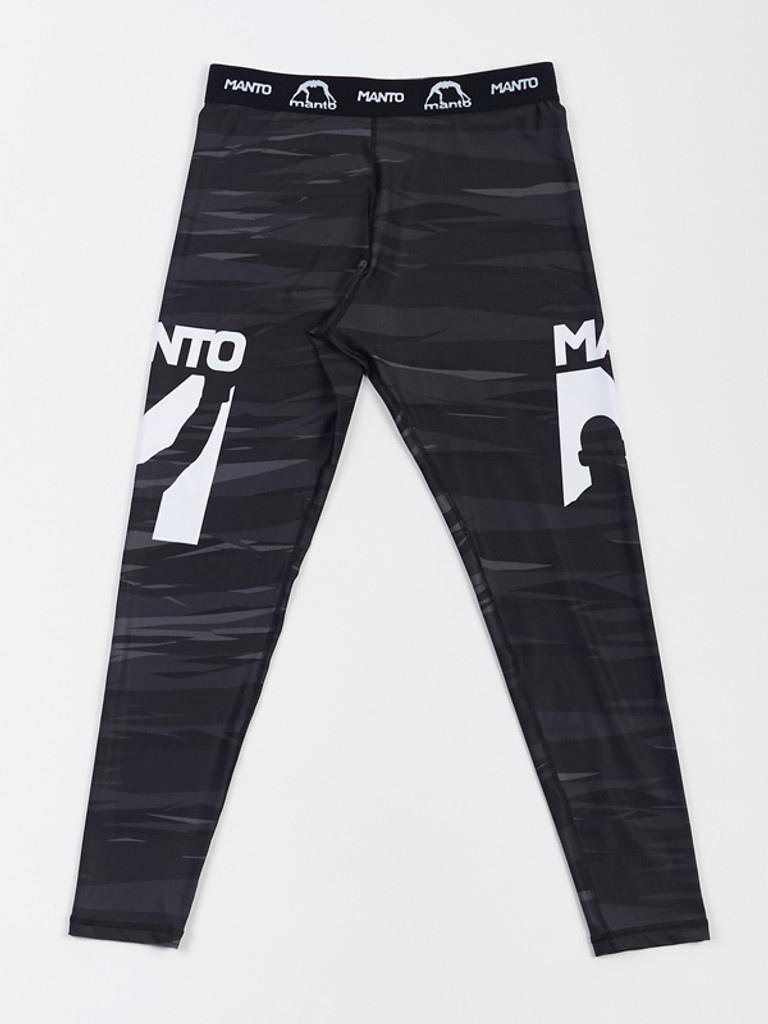 "MANTO ""FLAME"" SPATS Black"
