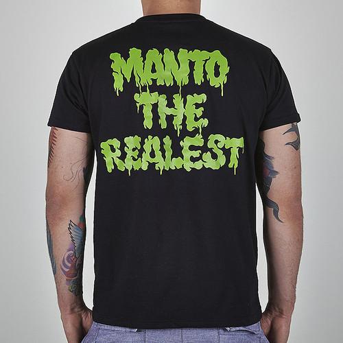 "MANTO ""ZOMBIE"" T-SHIRT  Black"