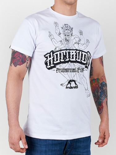 """MANTO """"HORIBUDO"""" T-SHIRT White"""