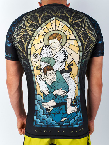 "MANTO ""GO IN PEACE"" RASHGUARD Black"