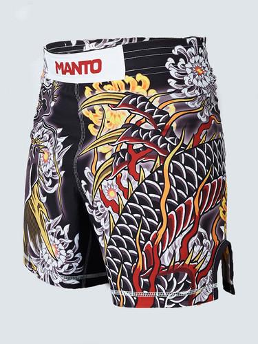 "MANTO ""DRAGON"" Pro Shorts Black LTD Edition"