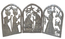 "Triptych Nativity  REC139   36"" x 18"""