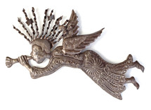 Haiti Metal Art - Heralding Angel
