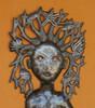 Mermaid Haitian Wall Decor, Recycle art