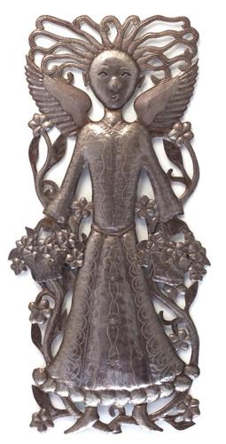 Garden Angel Metal Art Haiti