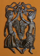 TWINS BRING LUCK, Handmade in Haiti, Angels,