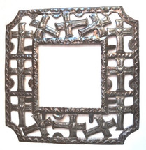 """Frame of Crosses- One of a Kind  19"""" x 19"""""""