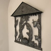 Haiti metal nativity Fair Trade Federation Metal Art on wall at home