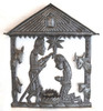 Haiti metal nativity Fair Trade Federation Metal Art