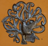 wall birds handmade in Haiti Metal art
