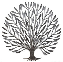 Elegant Tree of Life Haiti Metal Art Garden Art for Indoor and Outdoor