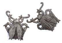 metal garden beetles