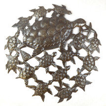 Haiti Metal Wall Art, Sea Turtle