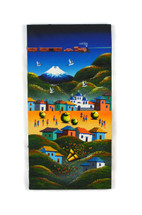 "Ecuador Painting 11 3/4"" x 23 1/2"""