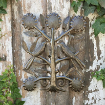 "Wedding Tree, Recycle Garden Haitian Art 11"" x 13"""