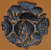 Haitian Metal wall art with Garden Butterflies