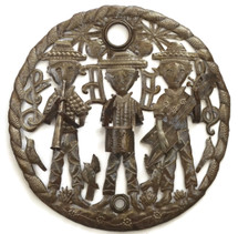 Boys in the Band Haitian Metal Wall Decor,