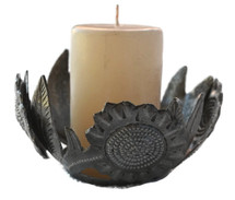 metal candle flower (candle not included)