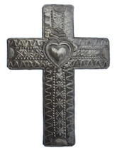 Large Wall Cross Haitian Religious Art it's cactus metal art haiti
