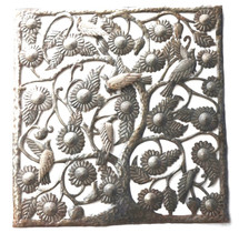 haiti metal art garden art tree of life