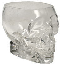 "Glass Skull Holder 4.5"" x 6"""
