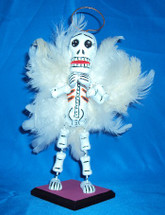 Angel Skeleton Toy celebrating Day of the Dead , Dia De Los Muertos