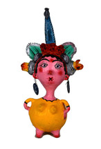 coconut doll , Mexican Folk art, Whimsical
