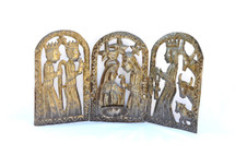 Small Triptych Nativity or Creche