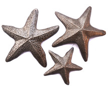 Starfish Set of 3, Handmade in Haiti,