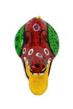 """Ornamental Hancrafted Dog Mask 3"""" x 5"""""""