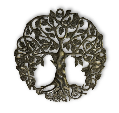 Haiti Metal Art, Recycled Tree of Life Wall Art, Quality ...