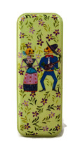 "Day of the Dead Pencil Box Holder 3"" x 8"""