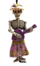 Skeleton Catrina Collection Charm Ornament 3.5""