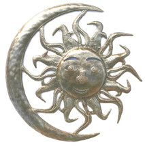 haitian metal sun moon wall art, It's cactus