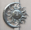 sun moon wall art from haiti