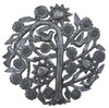 haiti metal art, tree of life, recycled steel