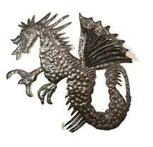 Metal Dragon Sculpture