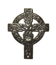 Celtic Cross, Irish Cross, Haitian Metal Art