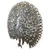 Large Metal Peacock