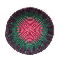 Finely Woven Coil Basket, Folk Art Mexico