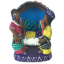 Ocumicho Mexico Fruit Stand Folk Art
