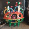 Colorful Noah's Ark by Serapio Medrano Hernandez, son of renowned ceramics sculptor Candelario Medrano.