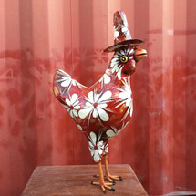 Whimsical Colorful Rooster