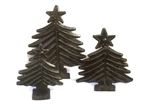 Christmas Tree, Handmade in Haiti
