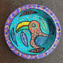 whimsical folk art fair trade project Guatemala